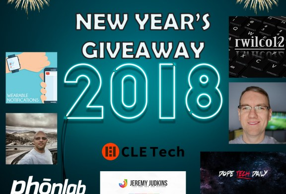 New Year's 2018 Giveaway!