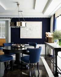Dining Rooms Navy Blue | Simple Home Decoration