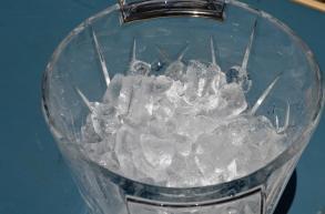 ice bucket ready