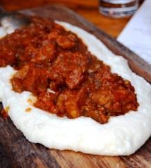 Mascarpone Polenta + Pork
