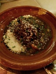 Lamb Tagine at Cleo