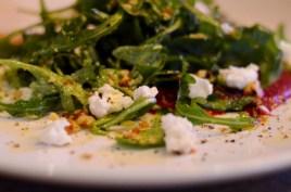 Arugula and Beet Salad 1
