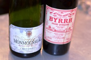 Byrrh and Champagne