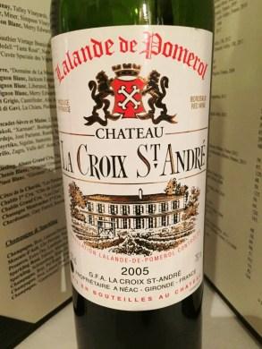 Chateau La Crux St Andre Lalande Pomerol