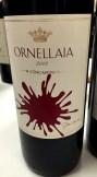 Ornellaia 2012 Artist Label