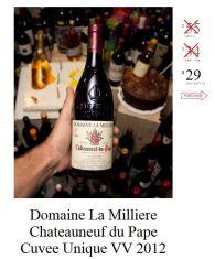 Domaine La Milliere Chateauneuf du Pape