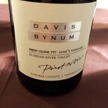 Davis Binum Pinot Noir