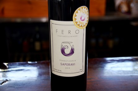 Fero Vineyards Saperavi