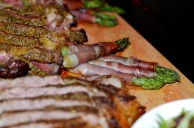 dirty tomahawk steak sides - asparagus Tavern 489