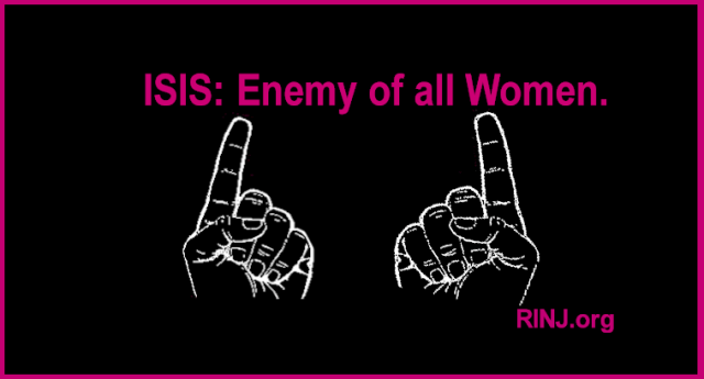 ISIS is the enemy of all women. So are Narcissistic Sociopaths