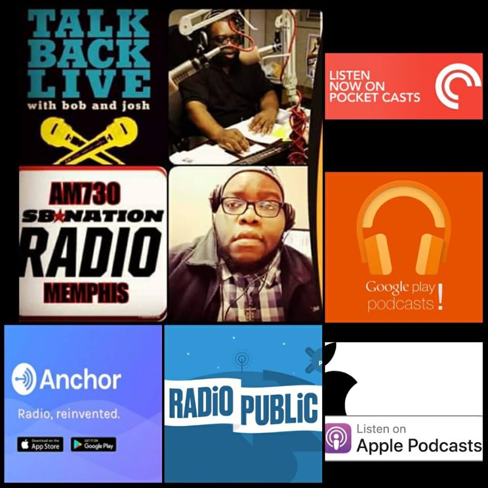 TalkBackLive Memphis Tigers/Grizzlies Segment Featuring Justice Bolden & Cam Rose