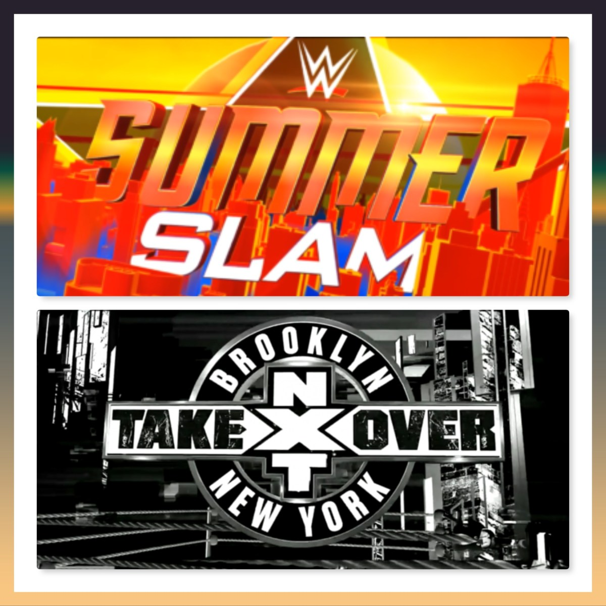 WWE Takeover & SummerSlam 2018 - A preview