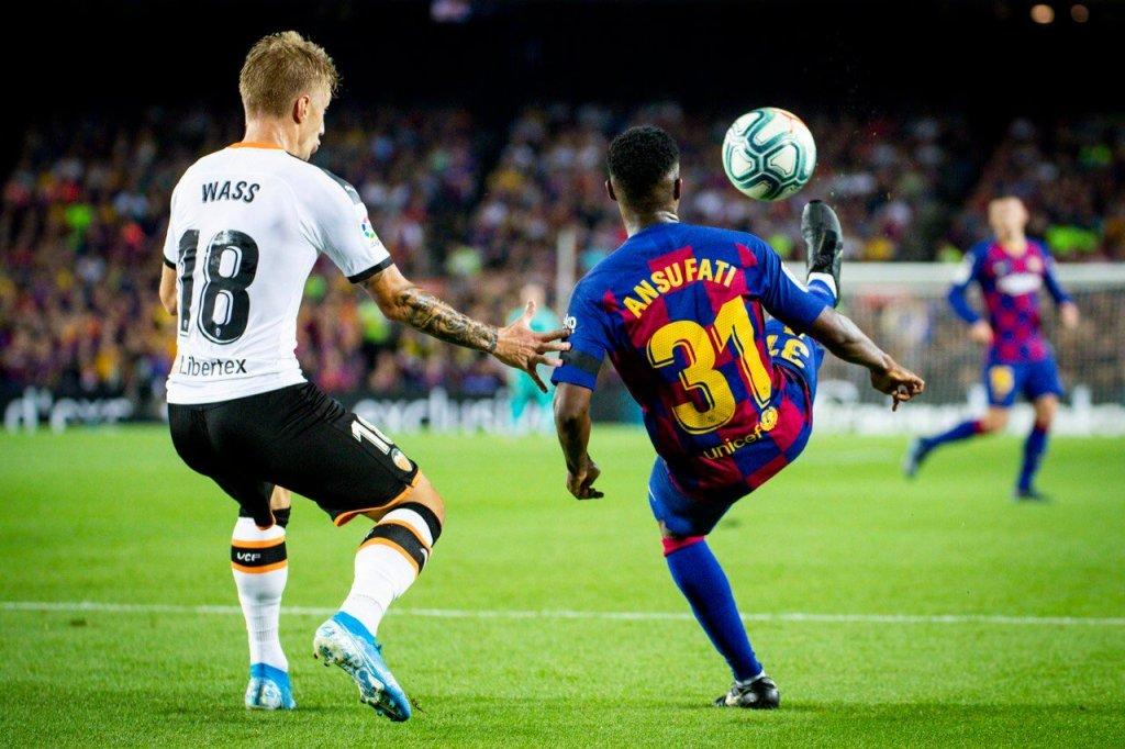 FC Barcelona vs Valencia - Ansu Fati - LaLiga 19-20