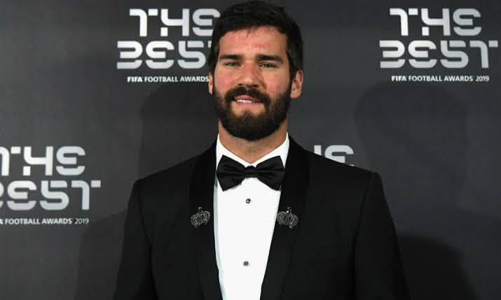 Fifa Player Of the Year Ceremony 2019 - Goalkeeper Of The Year - Alisson Becker