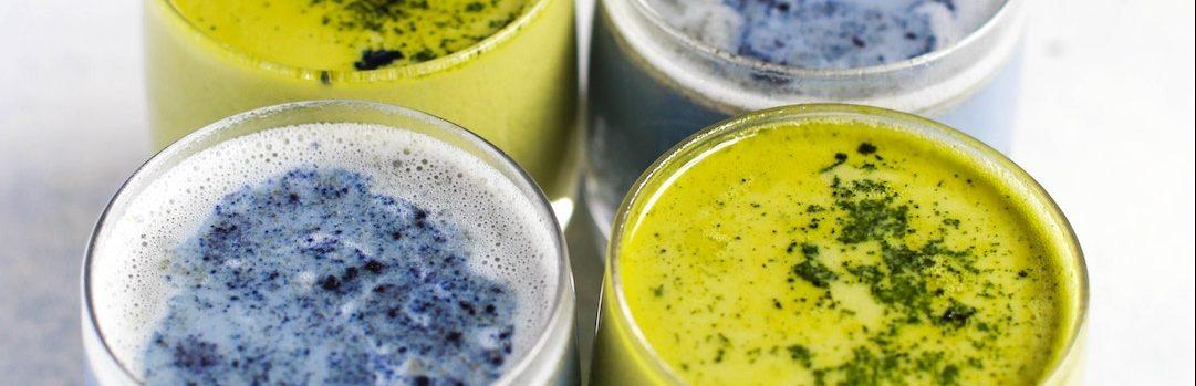 What is blue matcha
