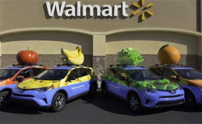 Wal Mart Using Uber For Online Grocery Delivery In Dallas