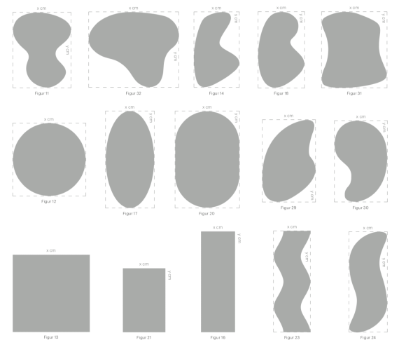 commercial area rug shapes