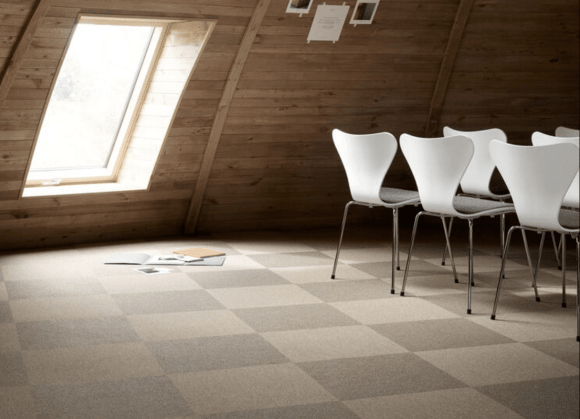 flat weave carpet, Epoca Knit Tiles