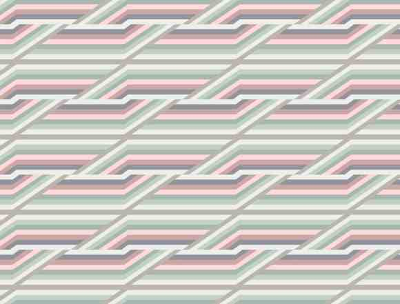 , geometric pattern inspired by the Moroccan souks market