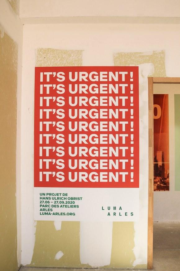 it's urgent luma arles