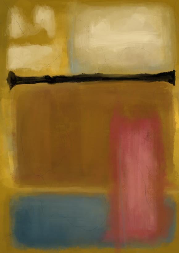 , Rothko inspired eleganza