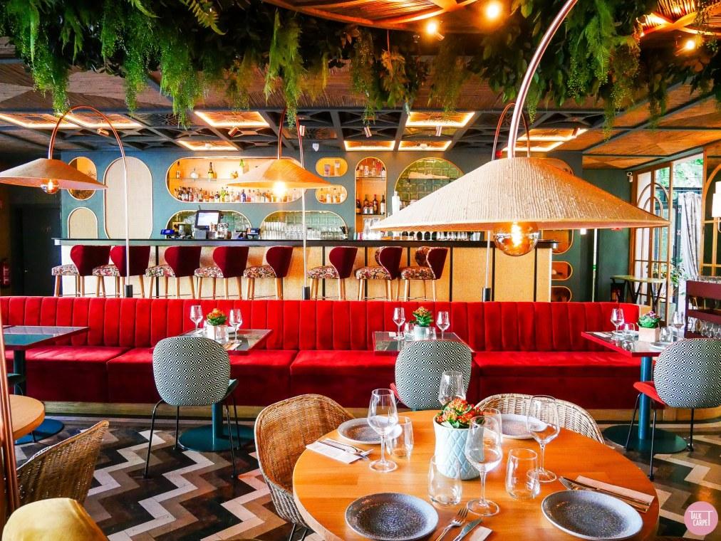 Talk Carpet Botania Restaurant Madrid 2