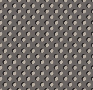 punch holes grey