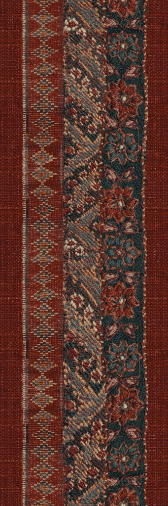 perse runner 130 cm  red