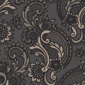 paisley lace grey