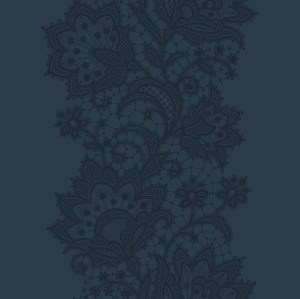 doily corridor 195 cm  blue