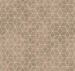 hexagon grid beige