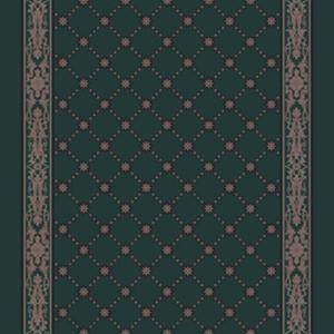 royal palace corridor 195 cm  green