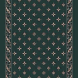 woven ribbon corridor 195 cm  green