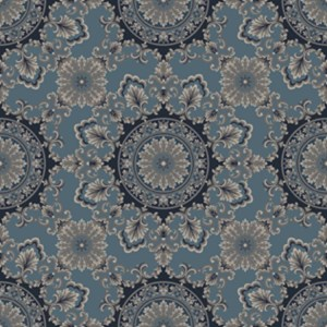 hall of mirrors  light blue
