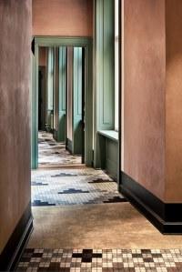 Hospitality carpet corridor