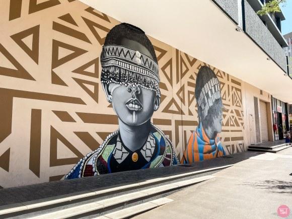 Graffiti walking tour Johannesburg, Join us on a graffiti walking tour of downtown Johannesburg