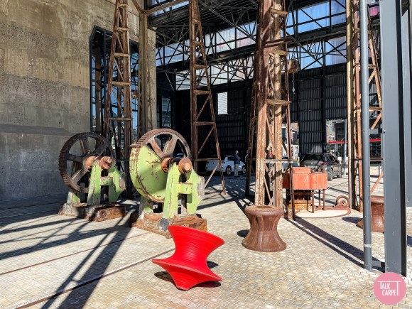 african art, African art at the Silo Hotel, designed by Heatherwick Studio