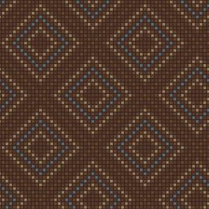 Kelim Stitch Brown