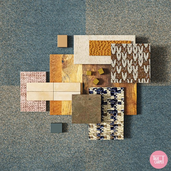 GRADIENT CARPET TILE, Gradient Carpet Tile inspired by the small villages in Egypt
