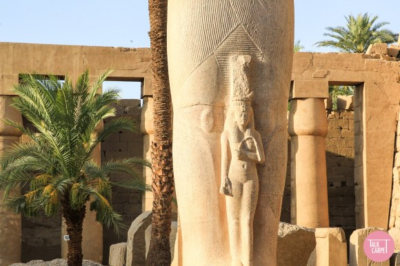 Egyptian temple, An immersive tour of four major Egyptian temples