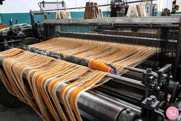 herringbone carpet, Materials palette with a Portuguese inspired herringbone carpet