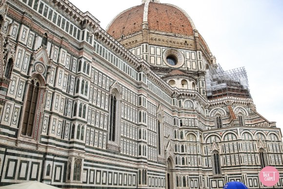 checkerboard carpet, Translating the Florence Duomo into a fun checkerboard carpet