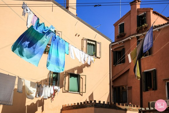 GRADIENT MATERIALS PALETTE, Gradient materials palette inspired by clotheslines in Venice