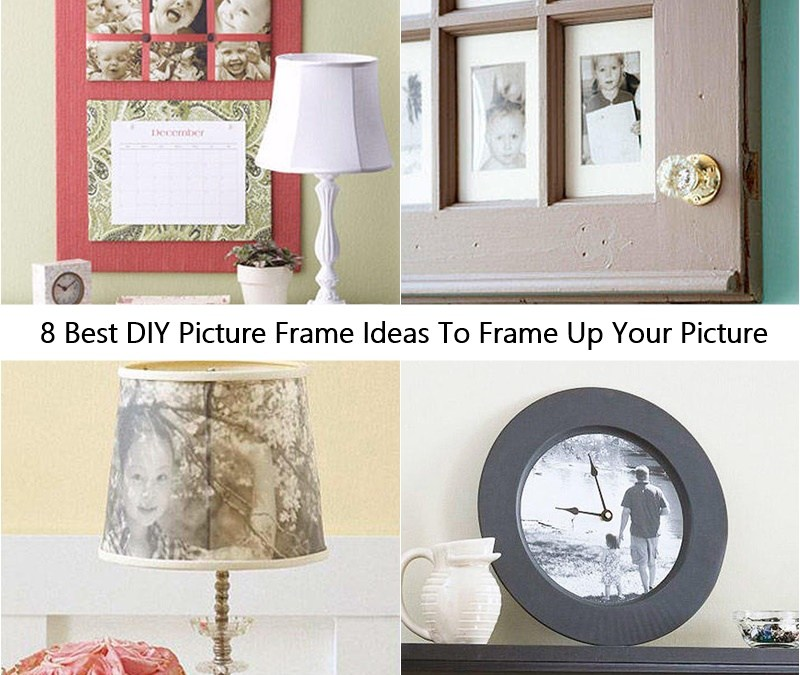 8 Best DIY Picture Frame Ideas To Frame Up Your Picture
