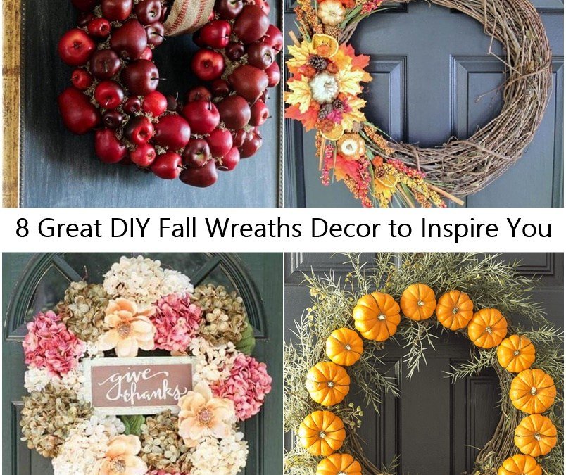 8 Great DIY Fall Wreaths Decor to Inspire You