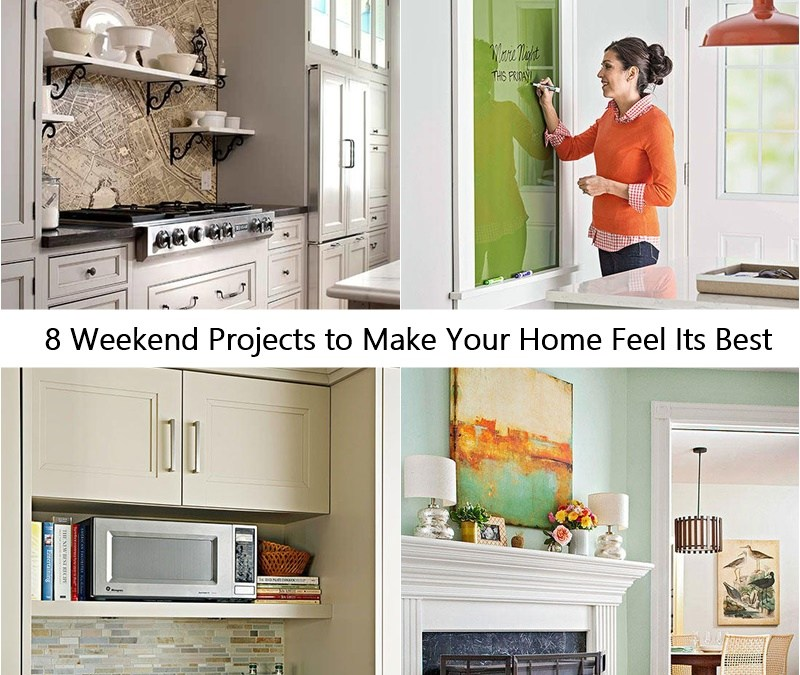 8 Weekend Projects to Make Your Home Feel Its Best