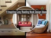 9 Inspiring Cozy Reading Nook Design Ideas