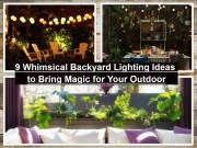 9 Whimsical Backyard Lighting Ideas To Bring Magic For Your Outdoor
