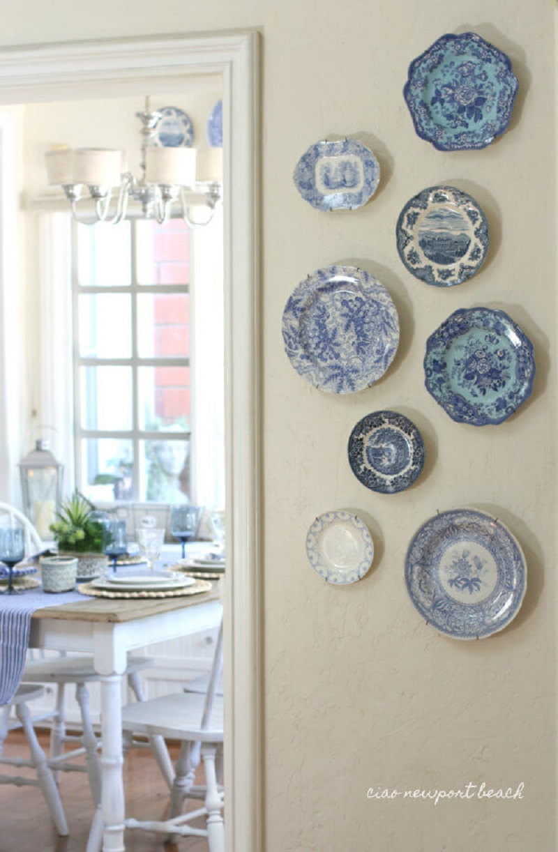 Beautiful China Print Plate Wall Hangings