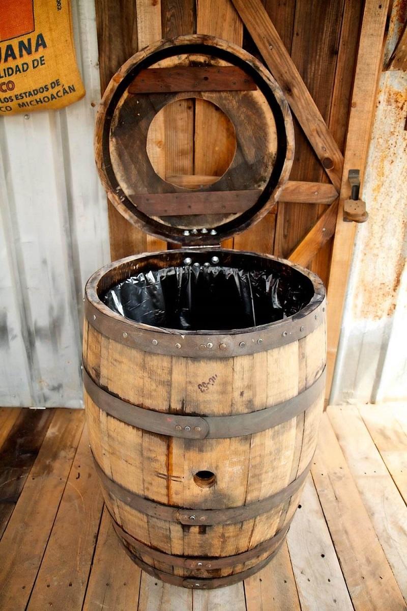 Riches To Rubbish Barrel Bin